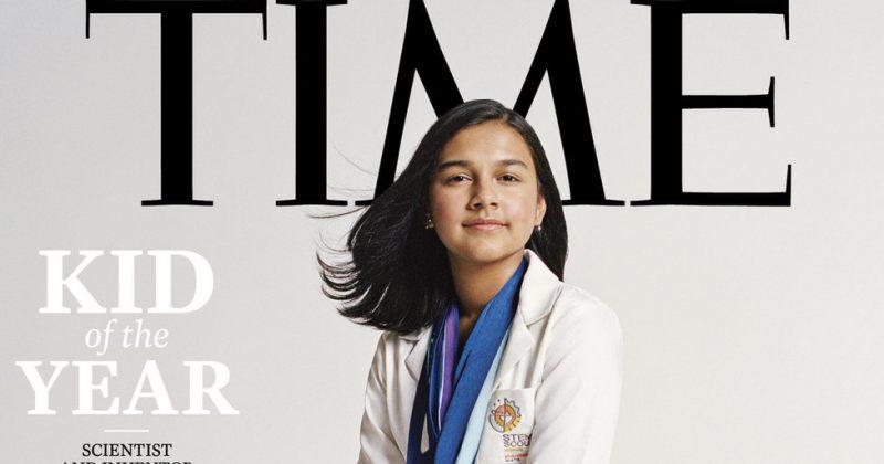 15 წლის გამომგონებელი გამოცემა TIMES-ის გარეკანზე მოხვდა