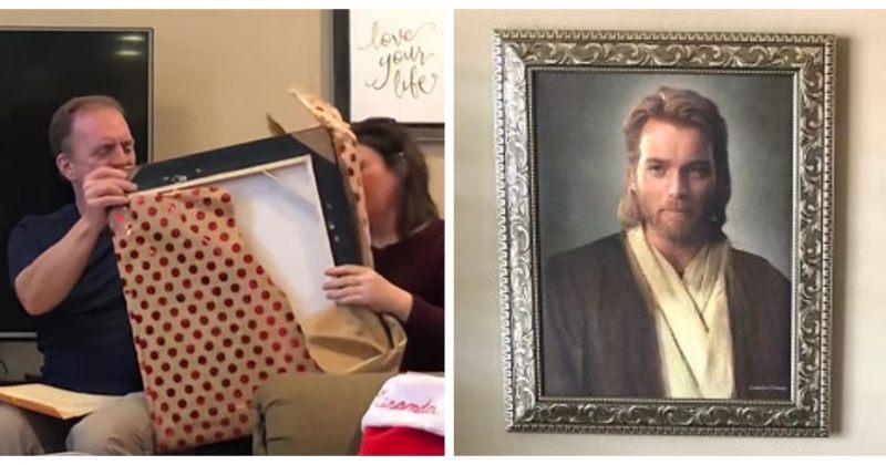 მშობლებს შვილის მიერ ნაჩუქარ პორტრეტზე გამოსახული ობი-ვან კენობი ქრისტე ეგონათ