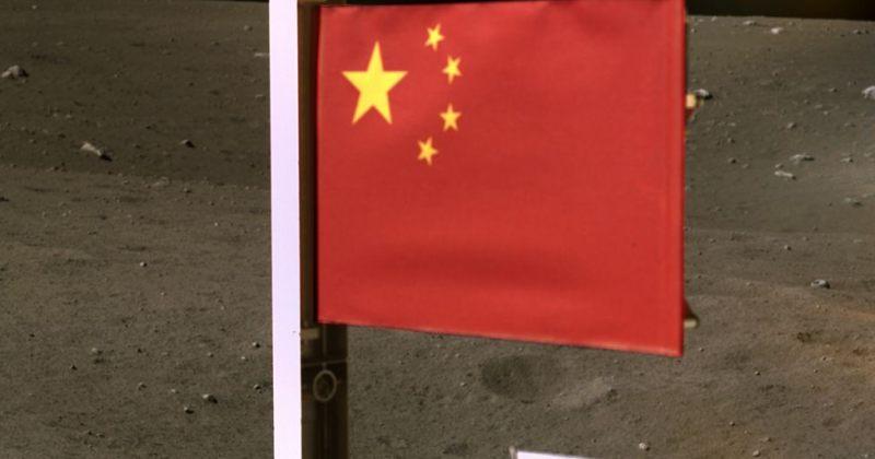 ჩინეთი მეორე ერი გახდა, რომელმაც მთვარეზე დროშა აღმართა