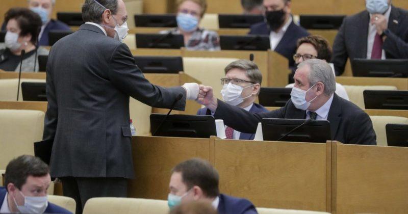რუსეთის დუმის სპიკერი: დუმის 5 წევრი კორონავირუსითორჯერ დაინფიცირდა