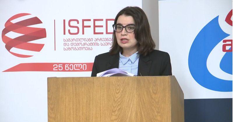Isfed-ის დირექტორი PVT-ს განახლებულ შედეგებზე: ეს არის რეალობა, რაც არ უნდა მძიმე იყოს