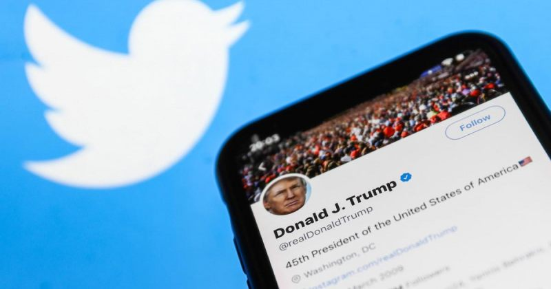 ტრამპის დაბლოკვის შემდეგ Twitter-ის აქციების ფასი 10%-ით დაეცა