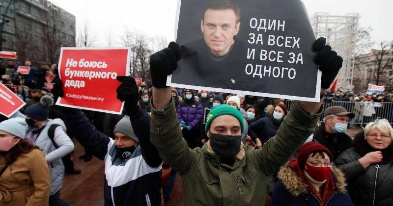 აშშ რუსეთს ალექსეი ნევალნის და მისი მხარდამჭერების გათავისუფლებისკენ მოუწოდებს