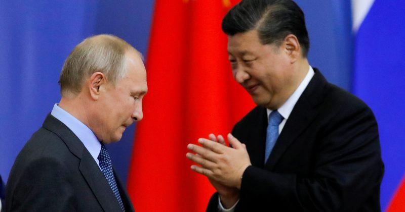 სი ძინფინგი პუტინს: ჩინეთ-რუსეთის ურთიერთობაზე არ მოქმედებს საერთაშორისო ვითარების შეცვლა