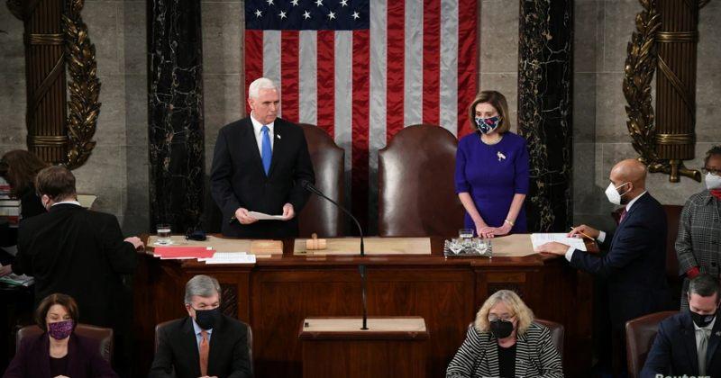 აშშ-ს კონგრესმა საპრეზიდენტო არჩევნებში ჯო ბაიდენის გამარჯვება ოფიციალურად დაადასტურა