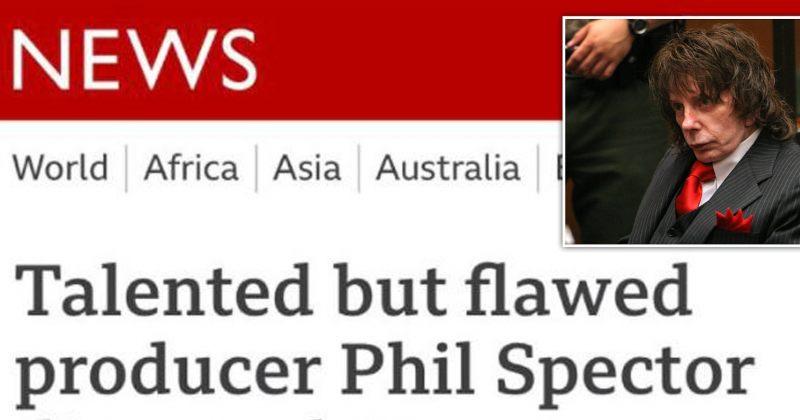 BBC-მ ფილ სპექტორის გარდაცვალების ამბავის სათაურის გამო ბოდიში მოიხადა