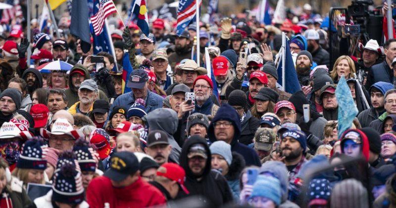 ვაშინგტონში კონგრესის სხდომის პარალელურად ტრამპის მხარდამჭერები აქციას გამართავენ