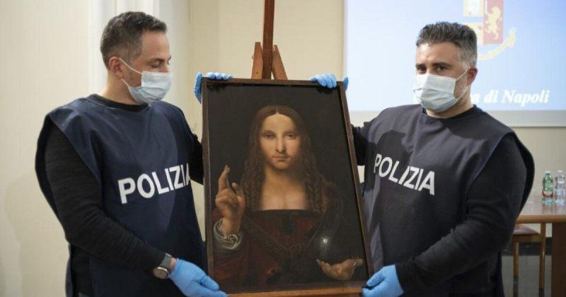იტალიის პოლიციამ ლეონარდო და ვინჩის მოპარული ტილოს ასლი იპოვა