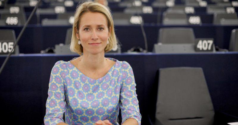 ესტონეთს პირველი ქალი პრემიერმინისტრი ეყოლება, პოსტზე კაია კალასია დასახელებული