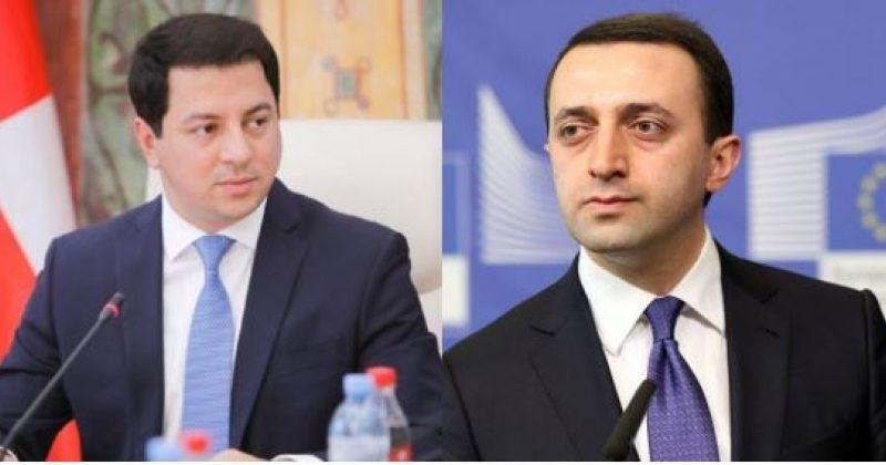 ქართული ოცნების ლიდერები ელჩი ჟვანიას გამოწვევაზე კითხვას გაურბიან