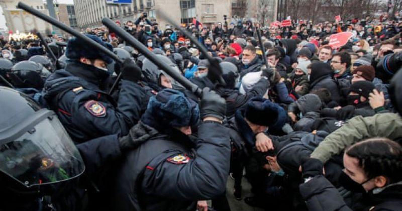 რუსეთი ნავალნის მხარდამჭერი აქციების წაქეზებაში დასავლეთს ადანაშაულებს