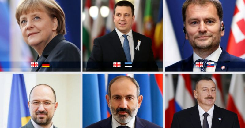 მთავრობამ მსოფლიო ლიდერების მილოცვები Facebook-ზე ალბომად გამოაქვეყნა