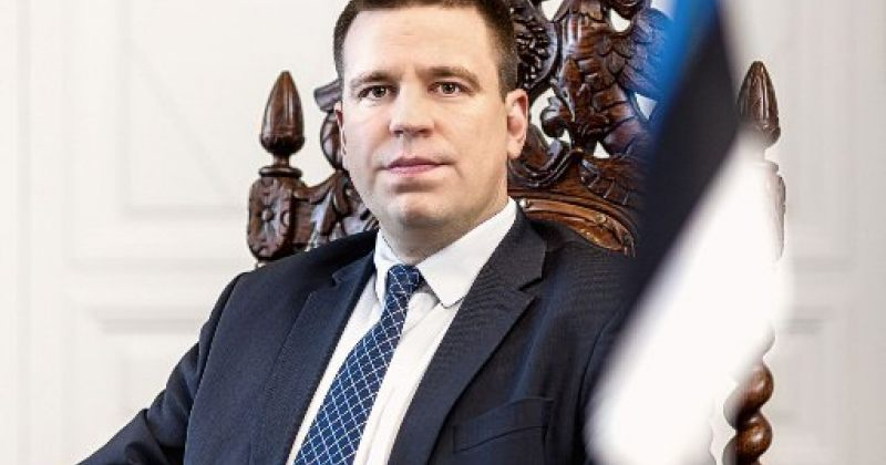 ესტონეთის პრემიერმინისტრი იური რატასი გადადგა