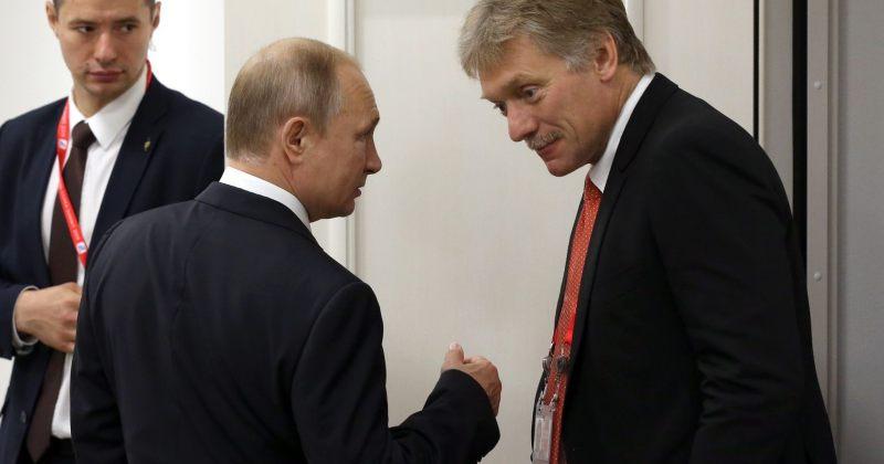 პესკოვი უკრაინაში პრორუსული მედიის დაბლოკვაზე: რუსეთი ასე არასდროს იქცევა