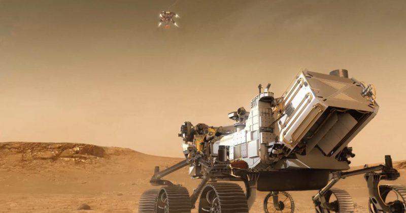 """NASA-ს როვერი """"შეუპოვრობა"""" წარმატებით დაეშვა მარსის ზედაპირზე [PHOTOS]"""