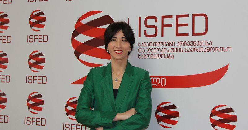 ISFED-ის აღმასრულებელი დირექტორი ნინო დოლიძე გახდა