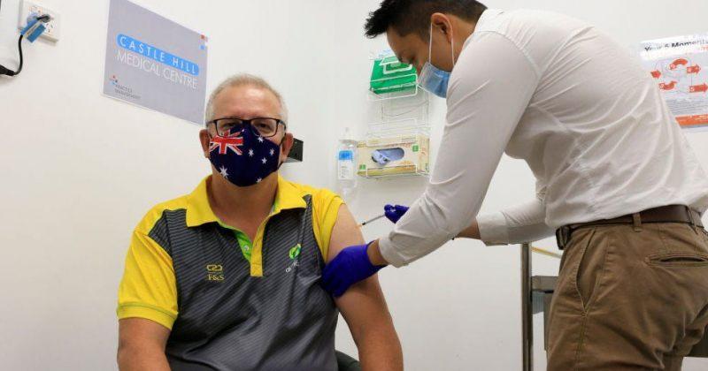 ავსტრალიის პრემიერმინისტრმა Covid-19-ის ვაქცინა გაიკეთა, ქვეყანაში ვაქცინაცია იწყება
