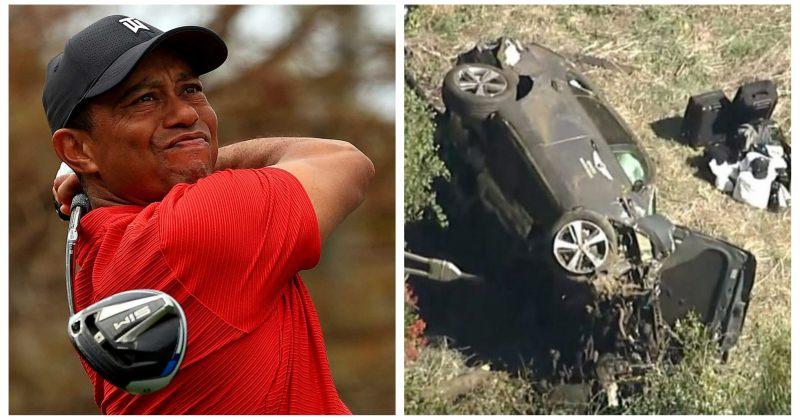 გოლფის ლეგენდა, ტაიგერ ვუდსი ავარიაში მოყვა