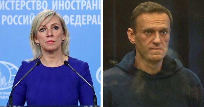 ზახაროვა: სასამართლოზე უცხოელი დიპლომატების მისვლა რუსეთის შიდა საქმეში ჩარევაზე მეტია