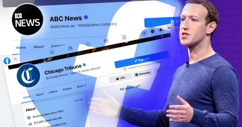 Facebook-მა ავსტრალიაში საქველმოქმედო და სახელმწიფო გვერდებიც დაბლოკა