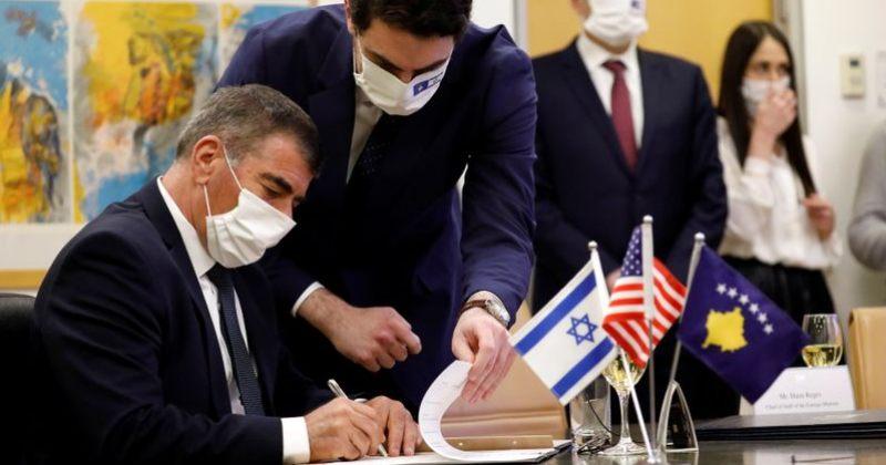 ისრაელმა და კოსოვომ დიპლომატიური ურთიერთობები დაამყარეს