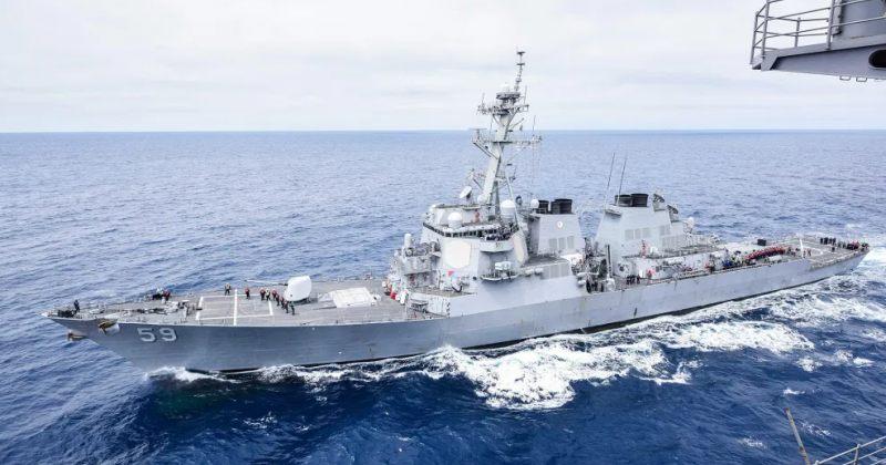 აშშ-ს სამხედრო ხომალდი სამხრეთ ჩინეთის ზღვაში შევიდა