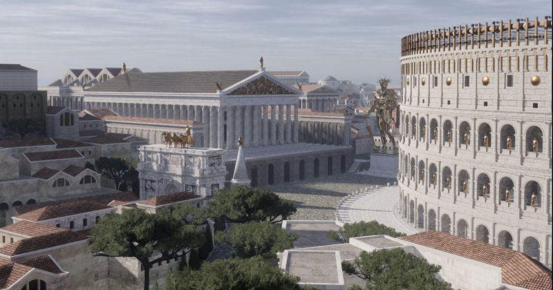 როგორ გამოიყურებოდა ანტიკური რომი ჩვ.წ. IV საუკუნეში - 3D ვიდეო