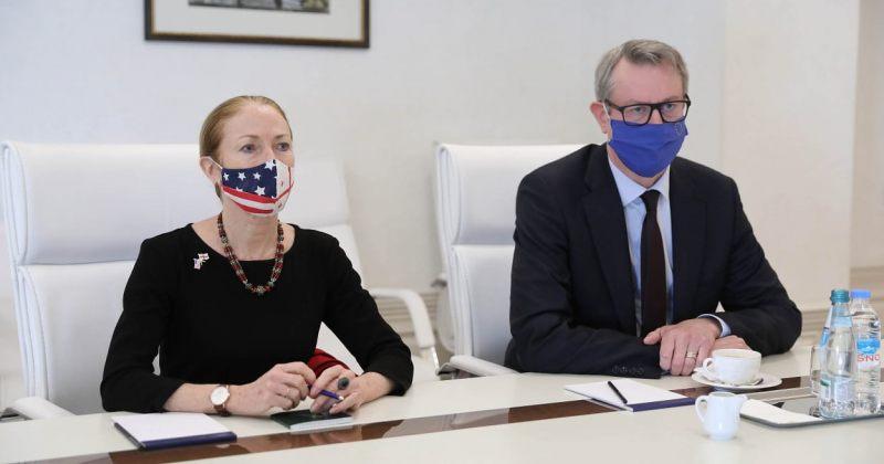 აშშ-ს საელჩო/EU-ს წარმომადგენლობა: მივესალმებით ურთიერთობის განახლებას, კომპრომისი აუცილებელია