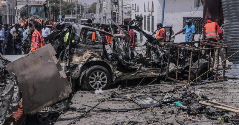 სომალიში თვითმკვლელი ტერორისტს მიერ ავტომობილის აფეთქებას 20 პირის სიცოცხლე ემსხვერპლა
