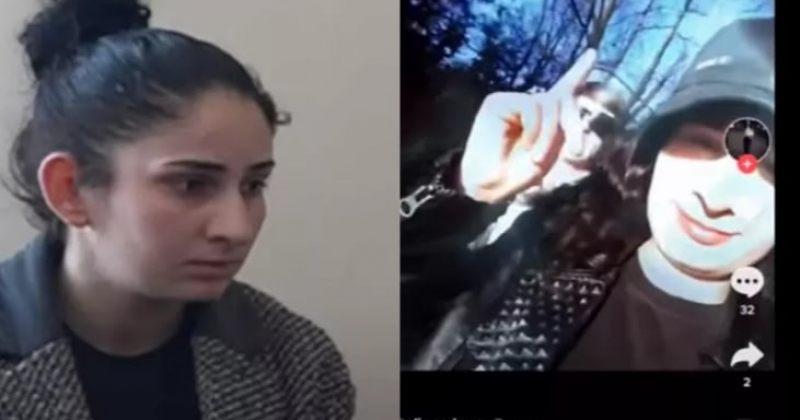 აფხაზ გოგოს, რომელმაც TIK-TOK ვიდეოში თქვა, რომ აფხაზეთი საქართველოა, ბოდიში მოახდევინეს