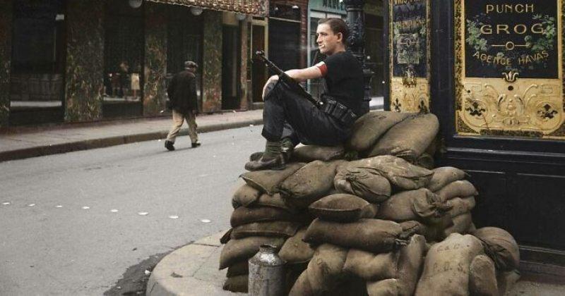 მეორე მსოფლიო ომის გაფერადებული ფოტოები