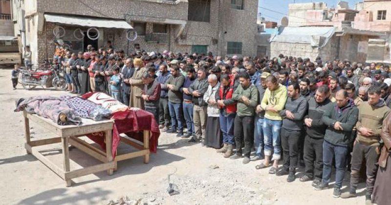 სირიაში რუსეთის ძალებმა თურქეთის საზღვართან მყოფი დასახლებები დაბომბეს