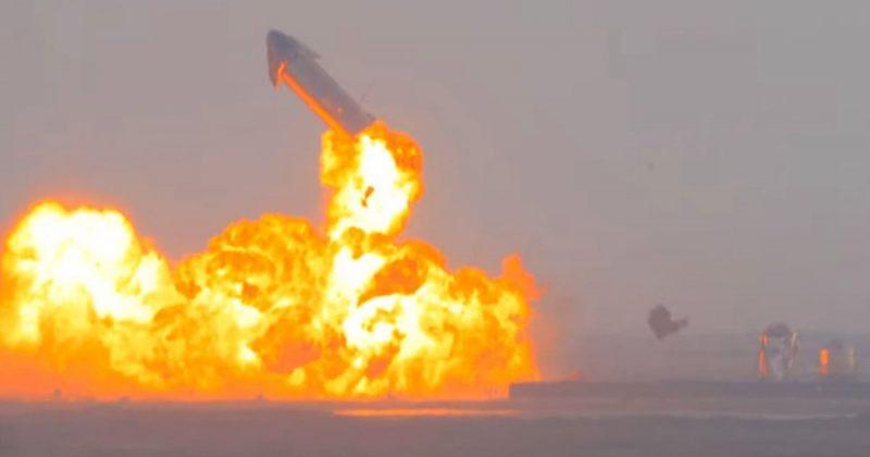 ილონ მასკის SpaceX-ის რაკეტა წარმატებული დაშვების შემდეგ 8 წუთში აფეთქდა [VIDEO]