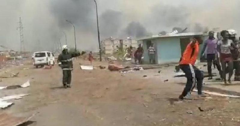 ეკვატორულ გვინეის ქალაქ ბატაში აფეთქებებს 15 ადამიანის სიცოცხლე ემსხვერპლა