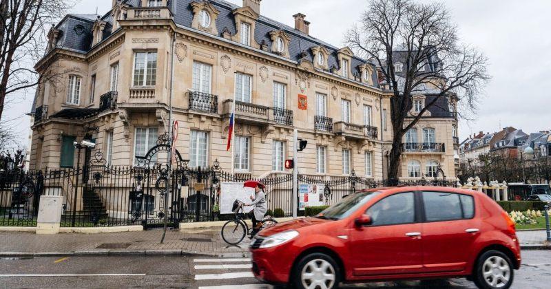 სტრასბურგში რუსეთის საკონსულოს მძღოლი მოპარული ველოსიპედებით ვაჭრობისთვის დააკავეს