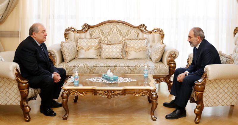 სომხეთის პრეზიდენტმა გენშტაბის უფროსად ფაშინიანის კანდიდატის დანიშვნას მხარი არ დაუჭირა
