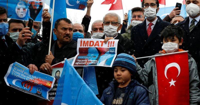 თურქეთში უიღური მუსლიმები ჩინეთის საგარეო საქმეთა მინისტრის ვიზიტს აპროტესტებენ