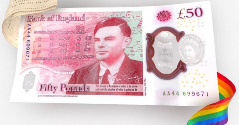 ბრიტანეთის ახალ £50-იან ბანკნოტზე ალან ტურინგი იქნება გამოსახული