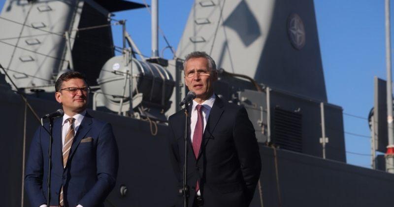 უკრაინის საგარეო საქმეთა მინისტრი NATO-ს გენერალურ მდივანს შეხვდება