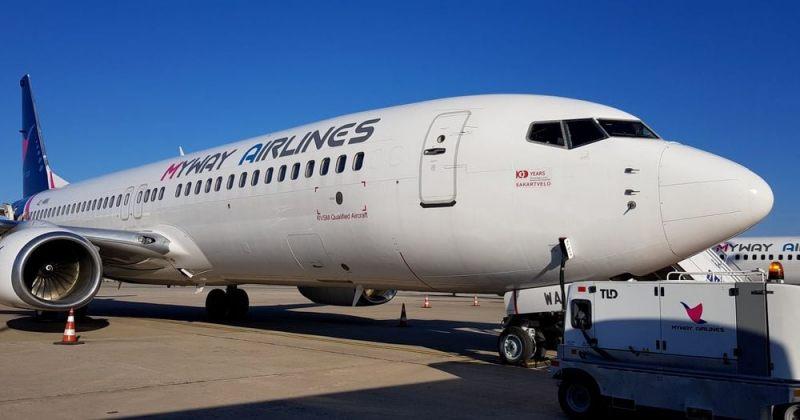 Myway Airlines-ი თბილისიდან თელ ავივის და ერევნის მიმართულებით იფრენს