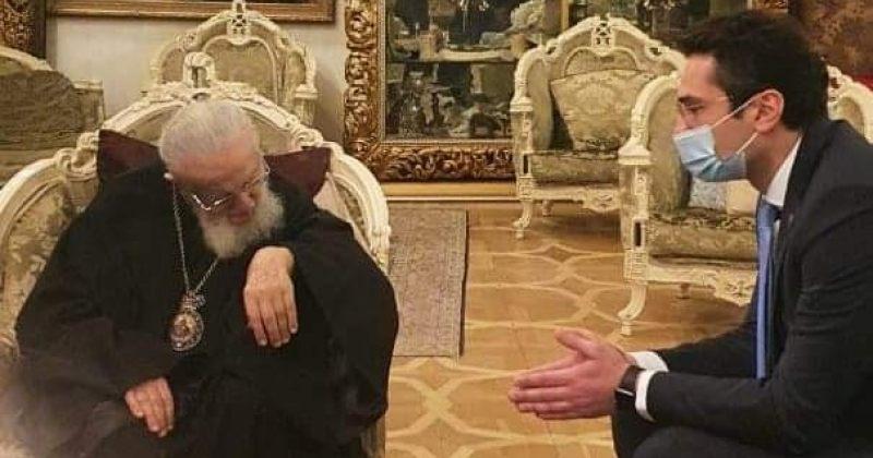 """""""დალოცა და ქვეყნის სასიკეთოდ ნაყოფიერი საქმიანობა უსურვა"""" – კუჭავა ილია II-ს შეხვდა"""