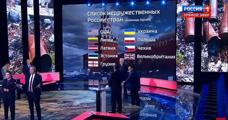 საქართველო რუსეთის არამეგობრული ქვეყნების სიაშია