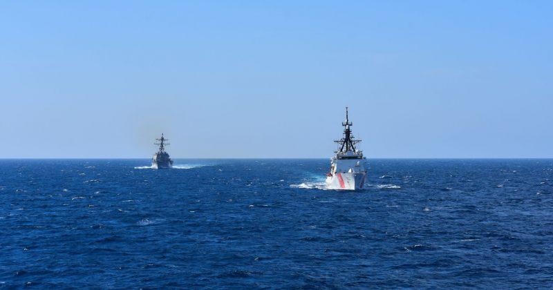 აშშ-ს სანაპირო დაცვის გემი შავ ზღვაში შემოვიდა