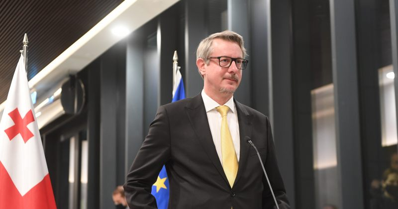 ჰარცელიდეპუტატებს: 09:00-დან გიწვევთ შეთანხმების ხელმოსაწერად EU-ს წარმომადგენლობაში