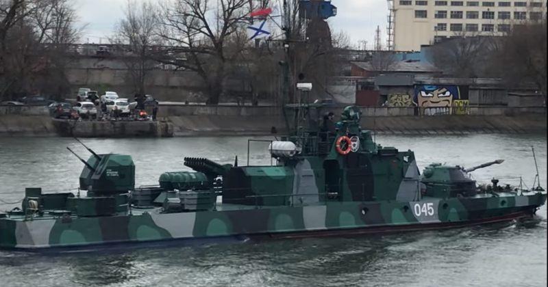 რუსეთმა კასპიის ფლოტიდან შავიზღვისპირეთში 15 სამხედრო ხომალდი გაგზავნა