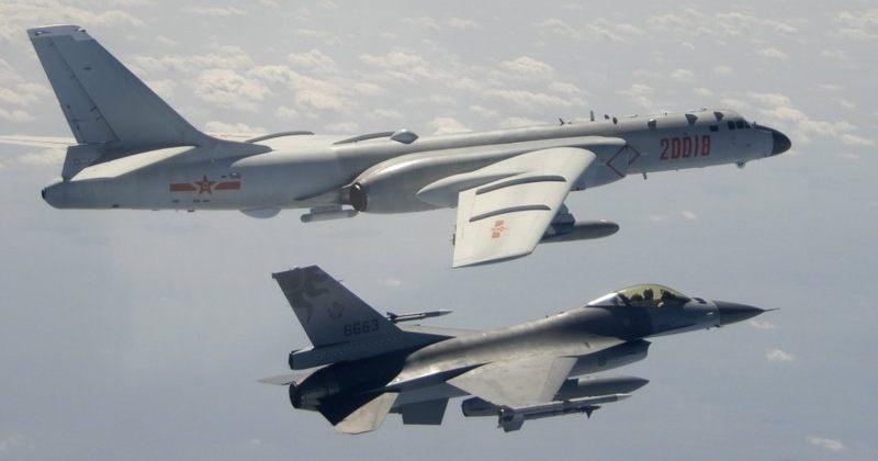 ტაივანის საჰაერო ზონაში ყველაზე მეტი, ჩინეთის 25 სამხედრო თვითმფრინავი შეიჭრა