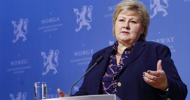 ნორვეგიის პრემიერმინისტრი კორონავირუსის ვაქცინით აიცრა