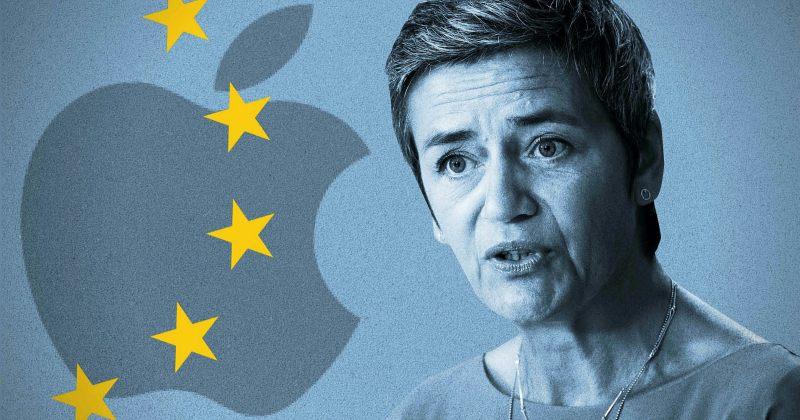 ევროკავშირი APPLE-ს კანონის დარღვევაში ადანაშაულებს, შესაძლო ჯარიმა $27 მილიარდს აღწევს