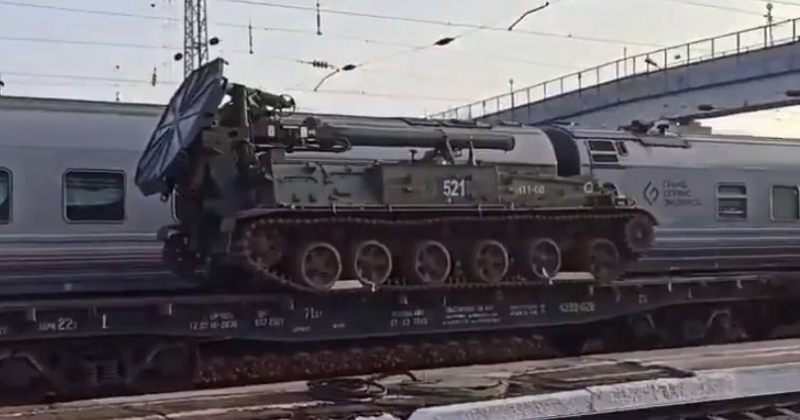 რუსული სამხედრო ტექნიკის უკრაინის საზღვრებისკენ გადაადგილება გრძელდება [ფოტოები]
