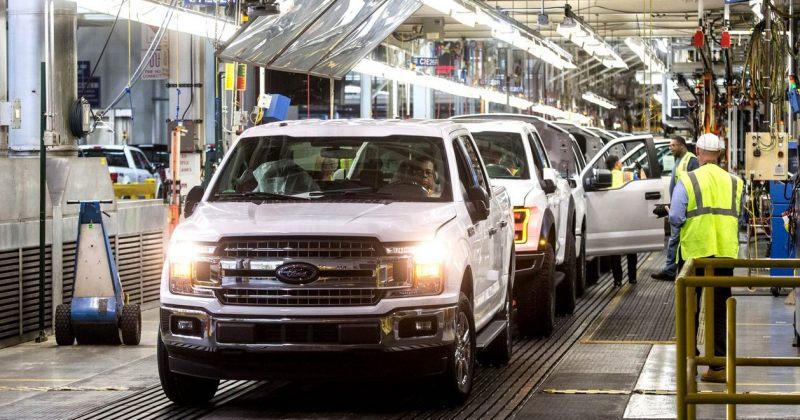 FORD-მა და GM-მა ჩიპების დეფიციტის გამო ავტომობილების წარმოება დროებით შეაჩერა